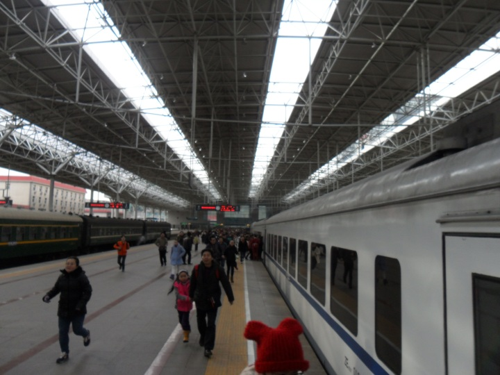 Great wall of China - Beijing north railway station
