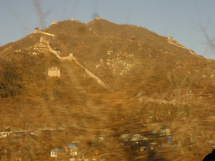 Great wall of china - first glimpse