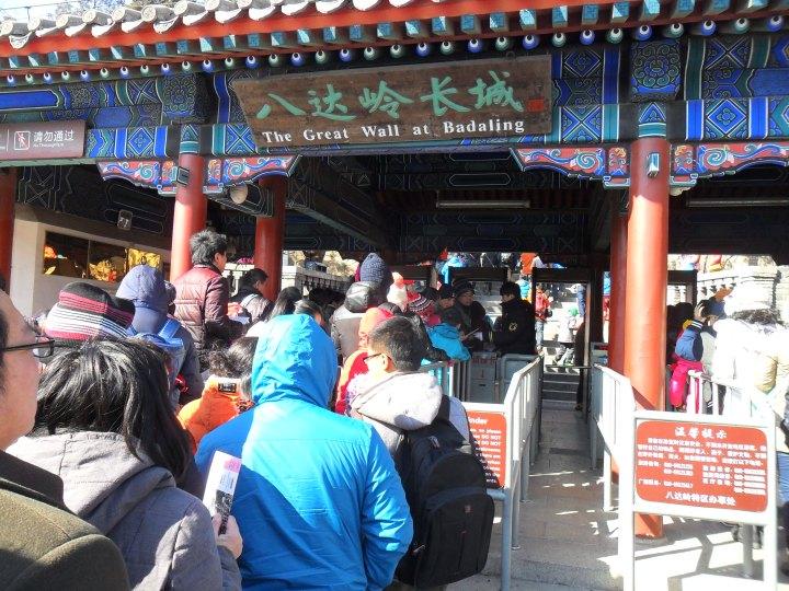 Great wall of china - Badaling entrance