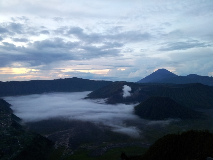1 Sunrise at Mt Bromo