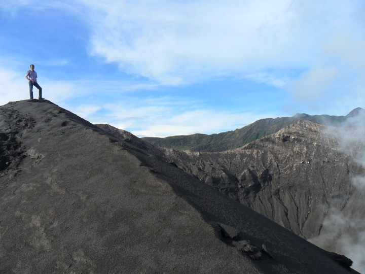 13 On to of Mt. Bromo