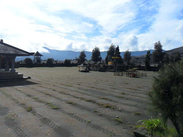 16 Temple of courtyard at Mt. Bromo