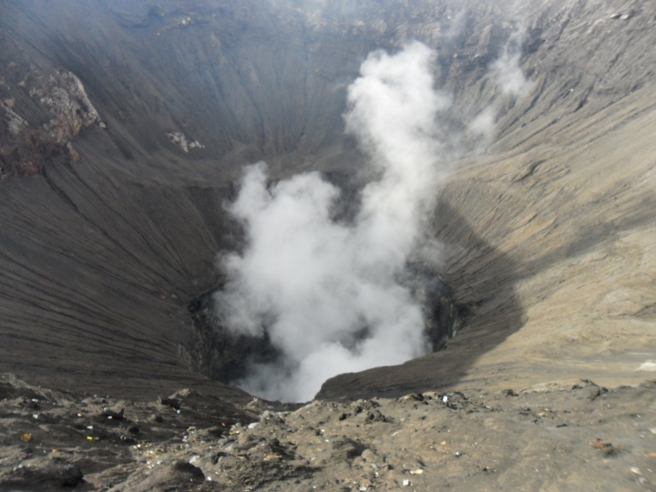 9 Smoke from Mt. Bromo