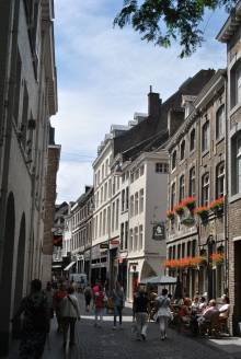 Street in Maastricht, the Netherlands