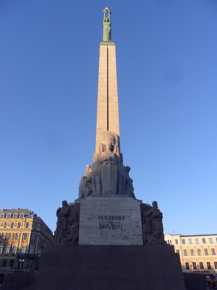 Stopover at Riga, Latvia