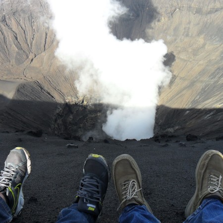 Visit to Mt. Bromo, Indonesia