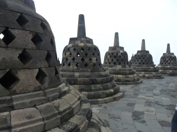 Borobudur in Yogyakarta, Indonesia