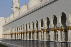 Grand mosque in Abu Dhabi6