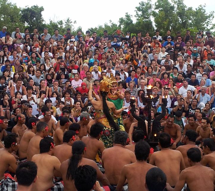 Lord Ram and Sita, Kecak Dance, Uluwatu