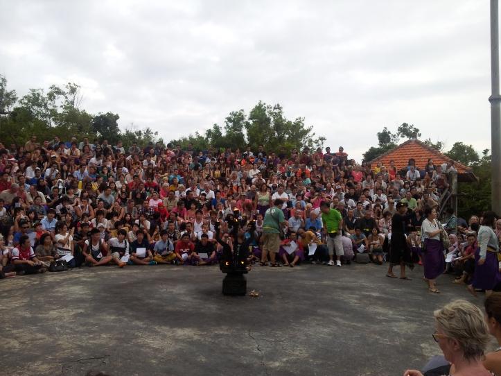 Start of Kecak Dance, Uluwatu