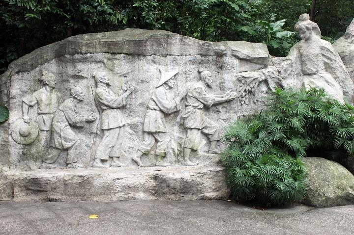 Yuexiu Park sculptures