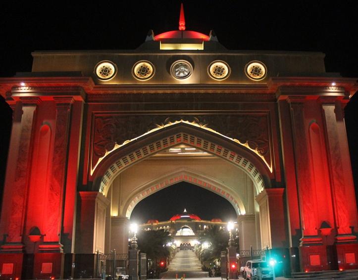 Entrance - emirates palace