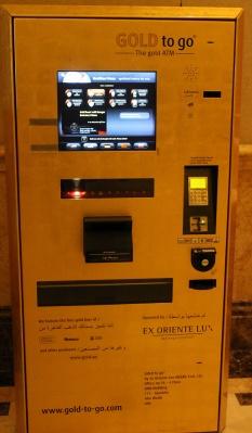 Gold ATM - Emirates palace