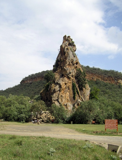 Fischer's Tower at Hell's Gate National Park