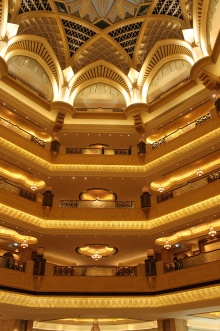 Inside Emirates palace - rooms