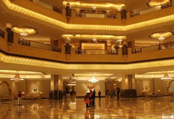 Inside emirates palace