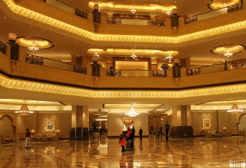 Inside emirates palace