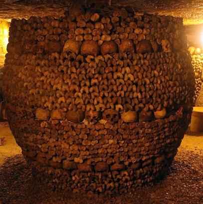 Bones in Catacombs