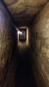 Inside catacomb