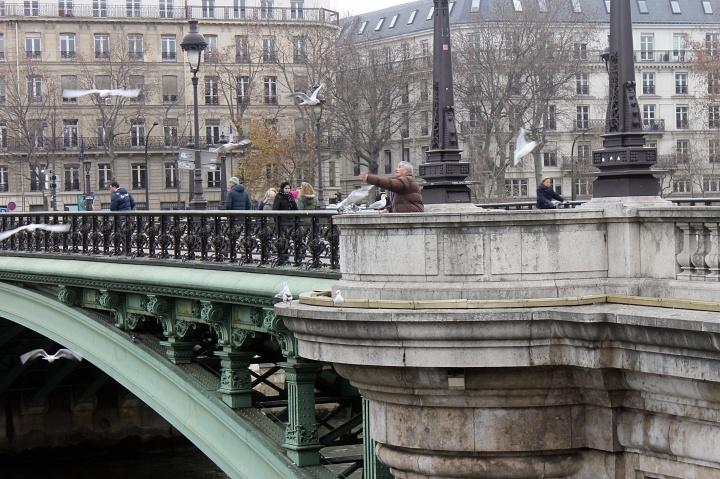 Scene in Paris