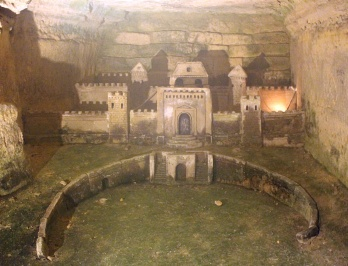 Sculpture in Catacombs