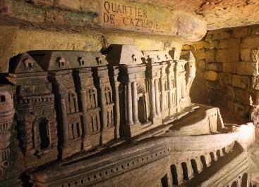 Sculptures in Catacombs