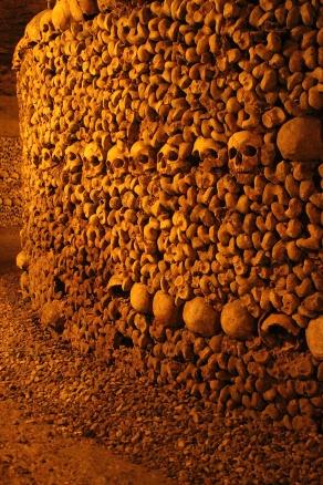 Skulls in Catacombs