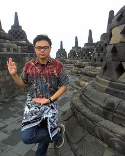 Victor in Borobudur