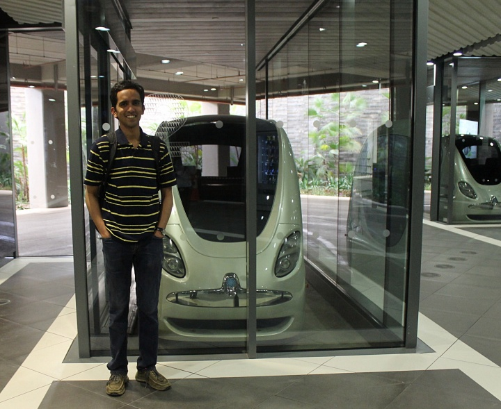 At Personal Rapid Transit, Abu Dhabi