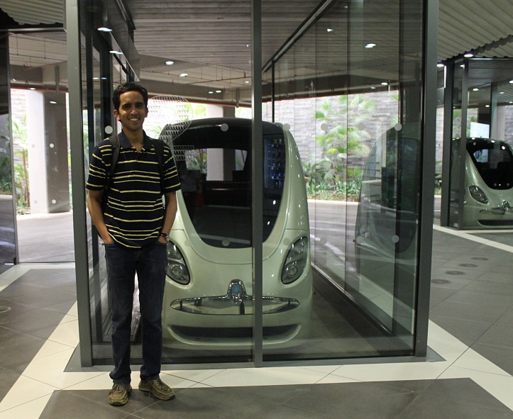 At Personal Rapid Transit, Abu Dhabi