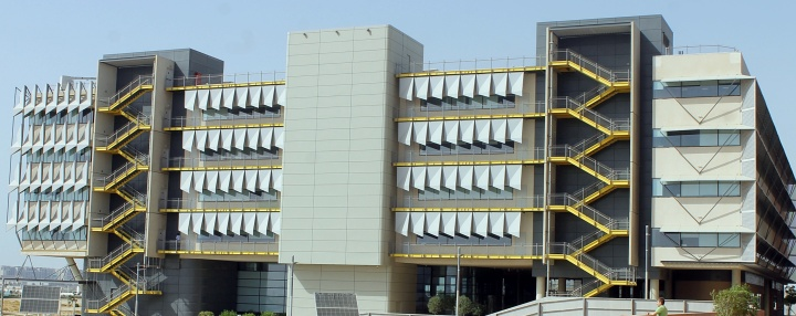 Buildings at Masdar City