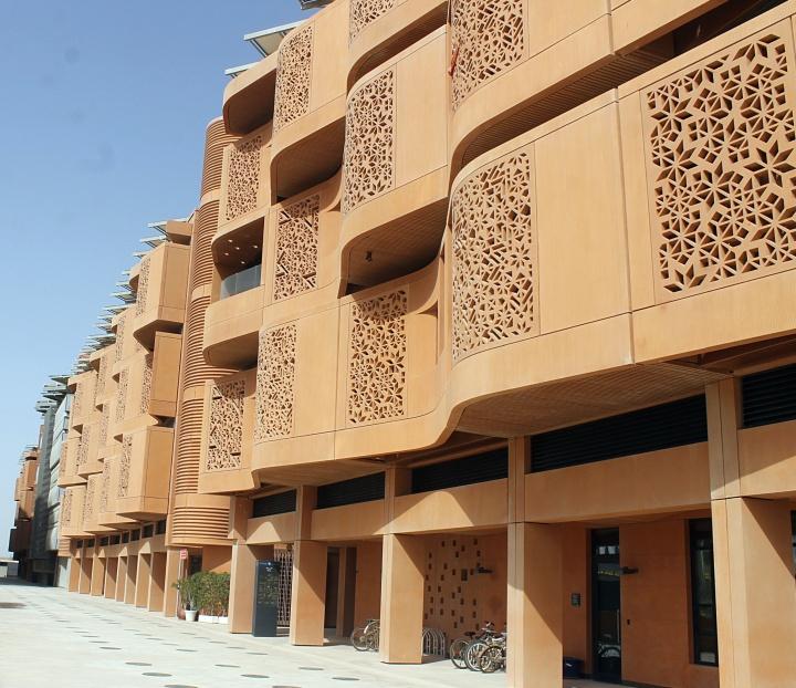 External facade, Masdar City