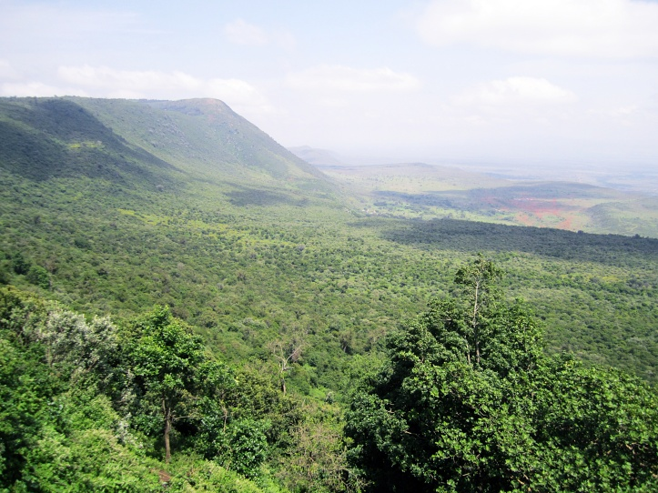 Great rift valley on return