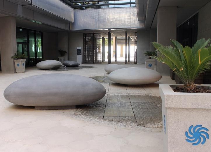 Inside the Masdar City