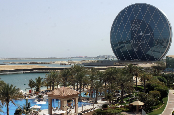 View outside the Al Raha hotel